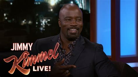 mike colter on jimmy kimmel mike colter on marvel s the defenders youtube