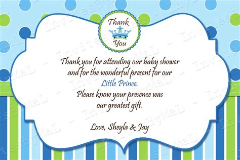 baby shower thank you cards sle wording 4k wallpapers