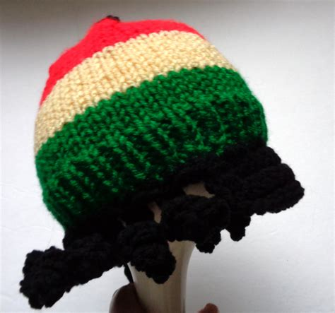 jamaican knit hats jamaican style hat baby rastafarian cap knit hat with