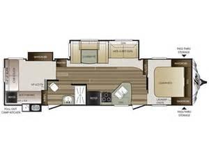 Cougar Travel Trailer Floor Plans 2016 Cougar Xlite 31sqb Floor Plan Travel Trailer Keystone