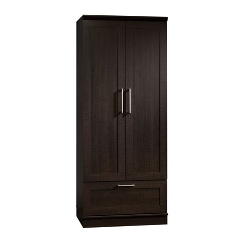 sauder clothing armoire sauder home plus wardrobe storage cabinet