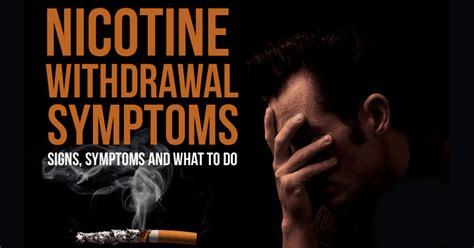 Nicotine Detox by Withdrawel Symptoms