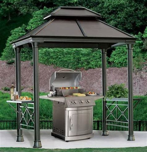 archfield hard top gazebo hardtop grill gazebo 28 images sunjoy hardtop grill gazebo better homes and gardens