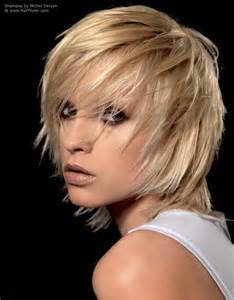 how to style razor haircuts shag hairstyle with razor cut layering and tousled styling