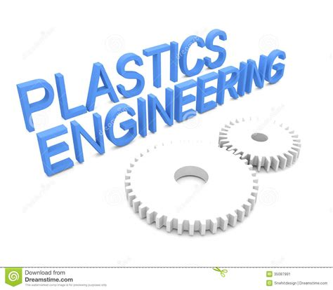 plastics engineering stock image image 35087991