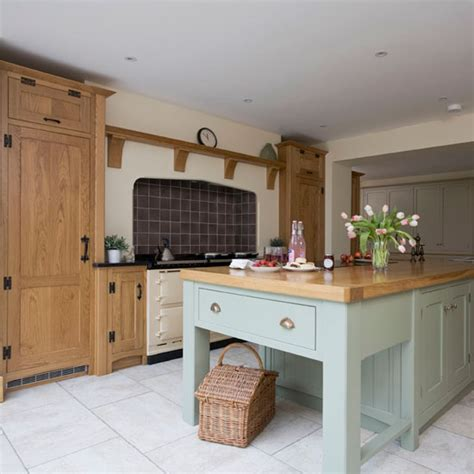 painted country kitchen cabinets take a tour around a painted country style kitchen ideal