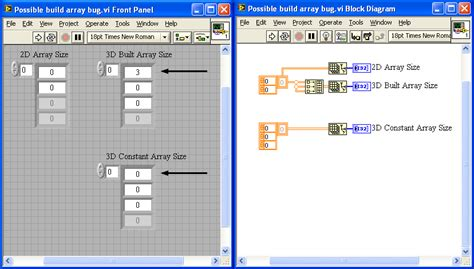 array tutorial construct 2 build array from 2d to 3d unexpected size discussion