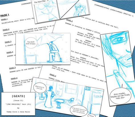 The 8 Step Guide To Creating And Publishing Your Own Comic Book Creative Bloq Scrivener Comic Book Template