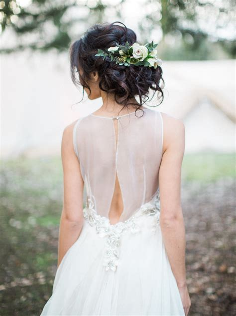 Wedding Hairstyles Real Brides by 008 Bridal Hairstyles With Real Flowers On Southboundbride
