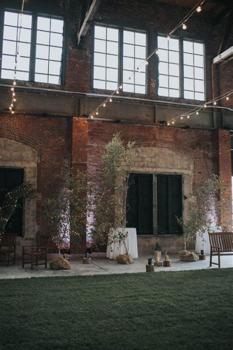 indoor garden wedding  thompsons point  portland