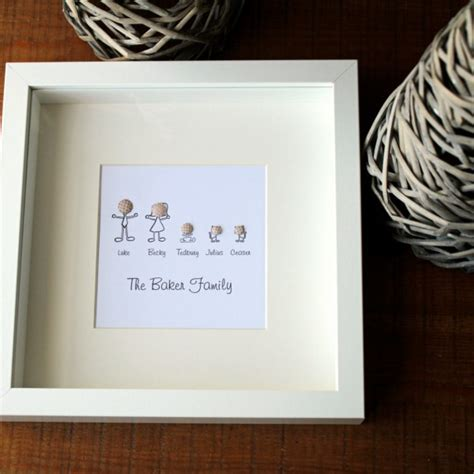 Stick person Personalised Family portrait / tree