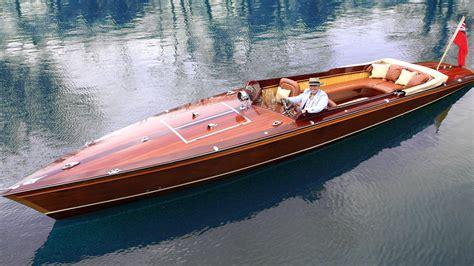 electric boat news mclaren designer builds gorgeous electric speedboat