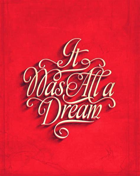 design dream typography poster design by fabian de lange