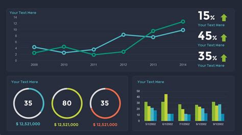 sales dashboard powerpoint and keynote template slidebazaar