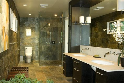slate bathroom contemporary bathroom