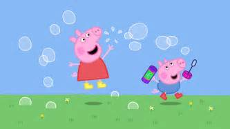 peppa pig hd wallpaper wallpapersafari