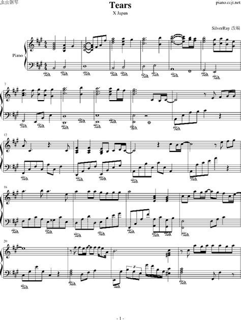 download mp3 x japan tears tears x japan tears x japan钢琴谱 tears x japan钢琴谱网 tears x