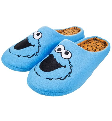 cookie monster house shoes sesame street cookie monster slippers