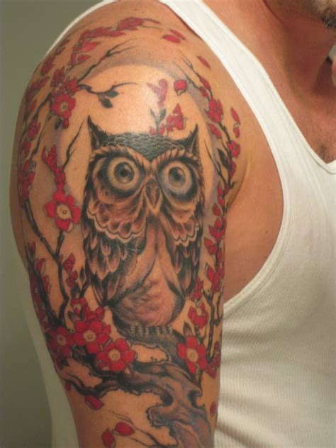 tattoo gallery owls owl tattoos design images photos pictures