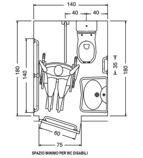 bagno disabili dimensioni dimensioni minime bagno disabili normativa duylinh for