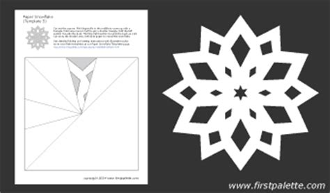 printable paper snowflake directions printable paper snowflake templates with directions