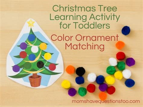 tree and toddler tree activity for toddlers and preschoolers