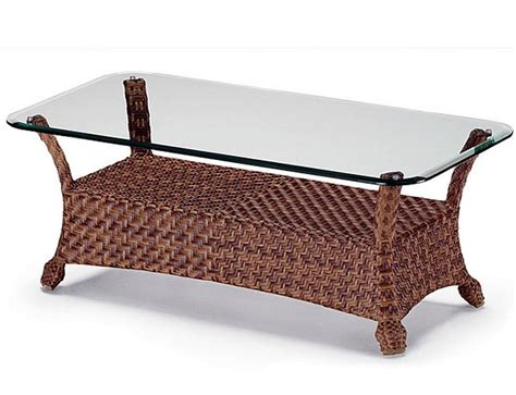 Rattan And Glass Coffee Table Rattan Coffee Table Glass Top Coffee Table Design Ideas