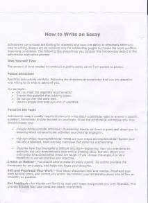 How To Write An Essay In College by Cavsconnect Writing Your College Essay More