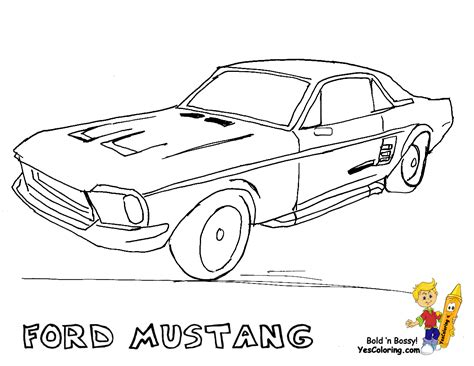 coloring pages cars mustang free logo ford mustang coloring pages