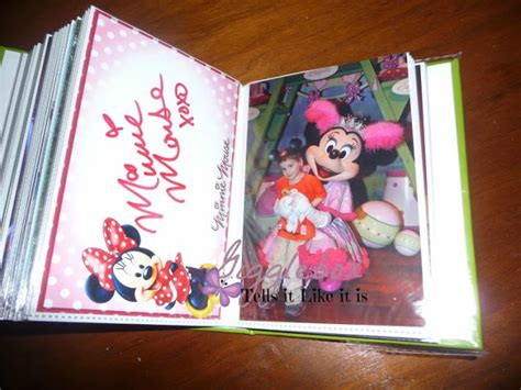 disney world picture book your own disney autograph book gigglebox tells