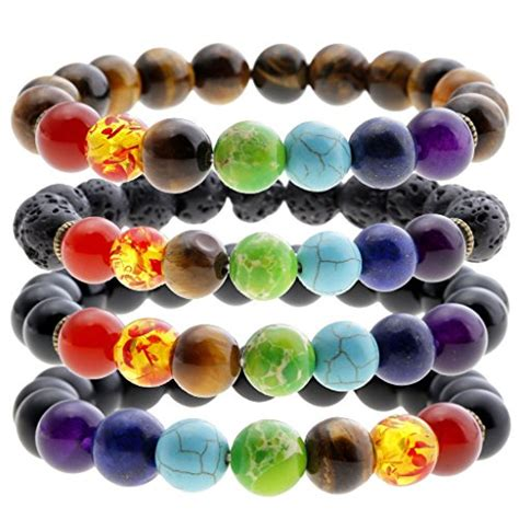 chakra gemstone jovivi 7 chakra bracelet gemstone reiki