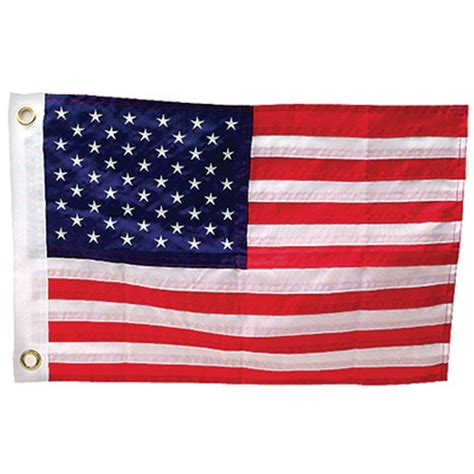 american flag for boat seachoice 174 deluxe sewn american flag 171257 boat