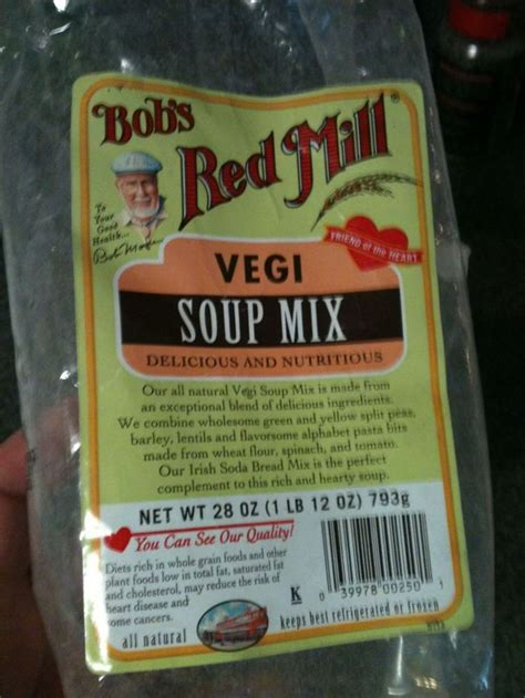 Bob S Mill Vegi Soup Mix 793g bob s mill vegi soup mix bob s mill recipes