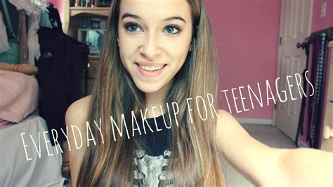 tutorial makeup natural for teenager everyday neutral makeup for teenagers youtube
