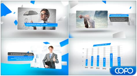free video presentation template for new company