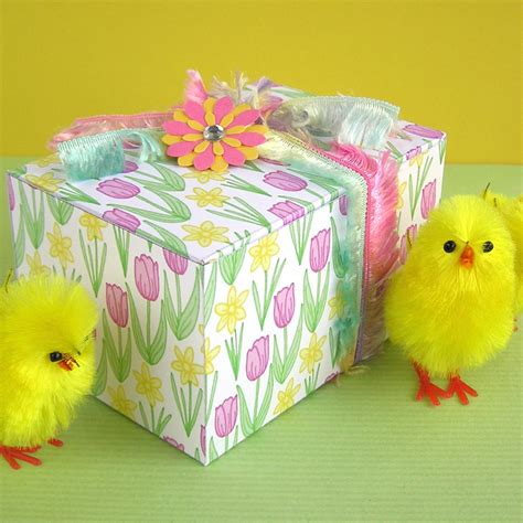 easter gifts hazel fisher creations printable easter gift boxes