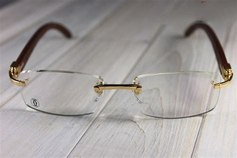 d 201 cor c optical glasses cartier wood eyeglasses cartier