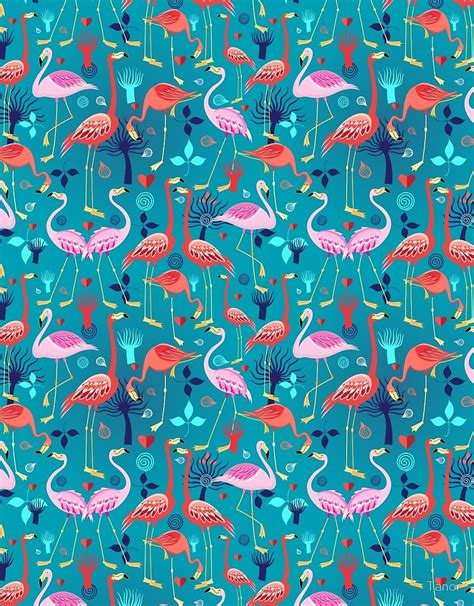 beautiful pattern quot beautiful pattern lovers flamingo quot by tanor redbubble