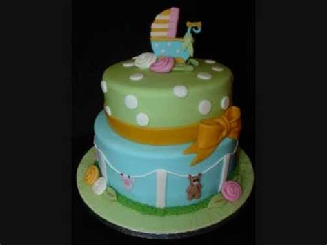 Unisex Baby Shower Cakes by Unisex Baby Shower Fondant Cake
