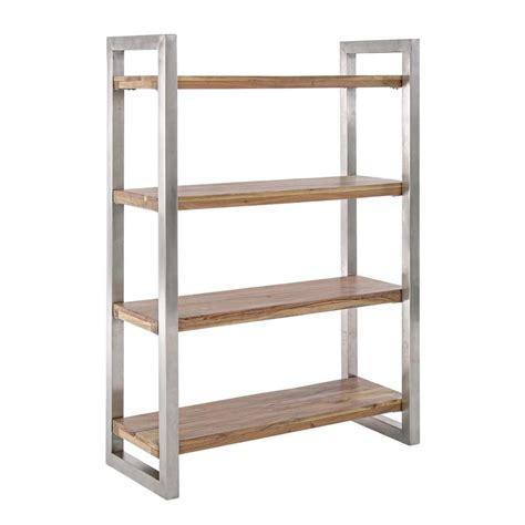 estante de metal timboct 249 shelf estante de metal con repisas de madera
