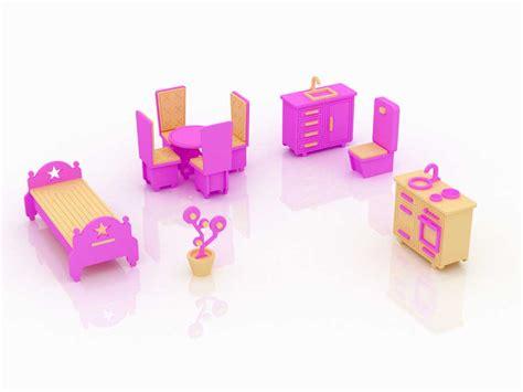 barbie furniture set  barbie scale size barbie