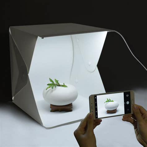 led light box photography mini led studio photo box dudes gadget