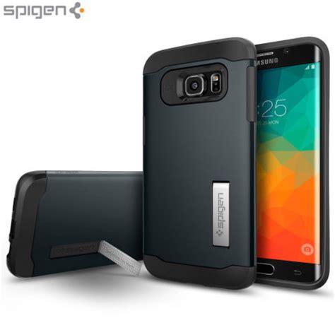 Spigen Samsung Galaxy S6 Edge Slim Armor Mobile Yellow spigen slim armor samsung galaxy s6 edge plus metal slate mobilezap australia