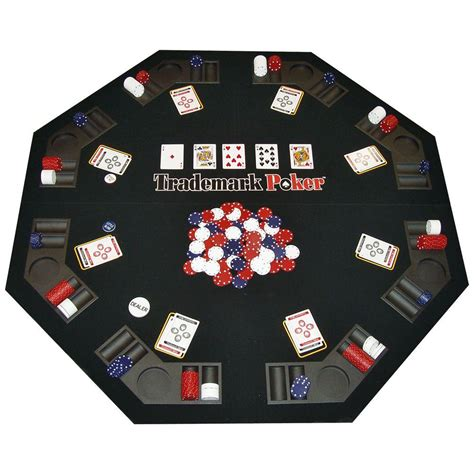 table and chips set trademark traveler table top and 300 chip travel set