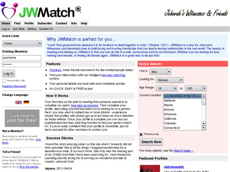 Jehovah witness dating site uk