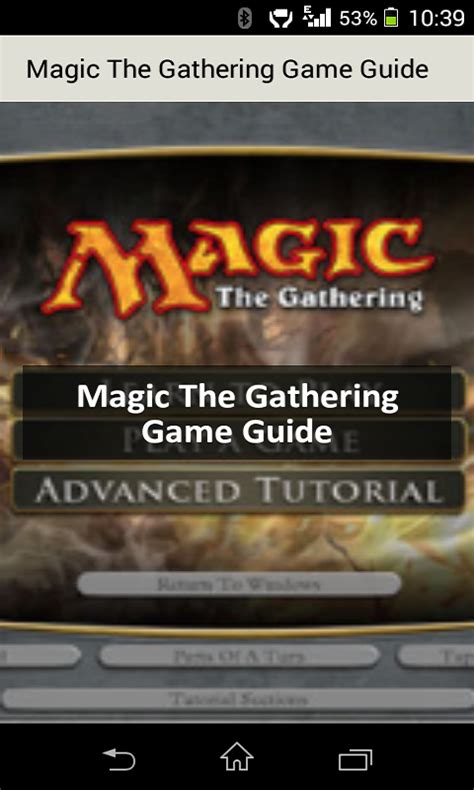 magic the gathering android magic the gathering unofficial guide ca appstore for android