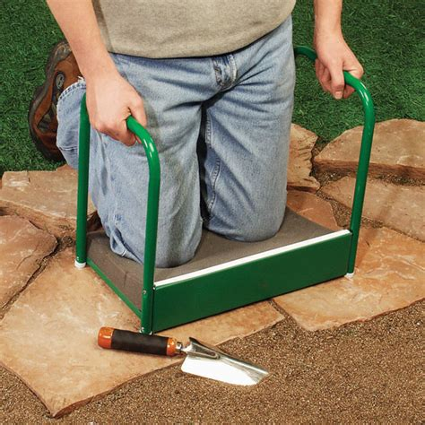 garden kneeling bench with handles misc flower seed info on pinterest propagation