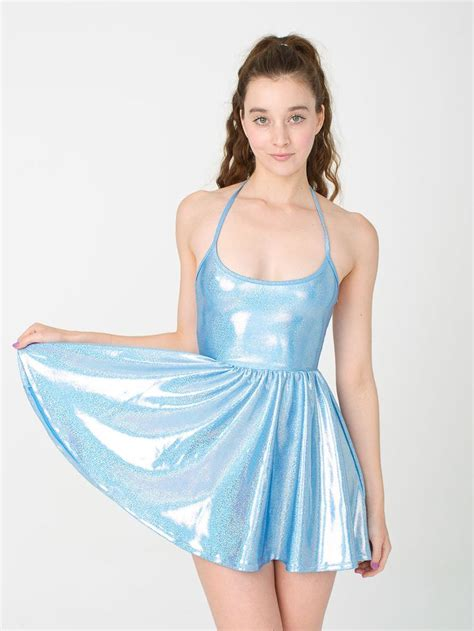 Dress Shiny shiny figure skater dress adorn you
