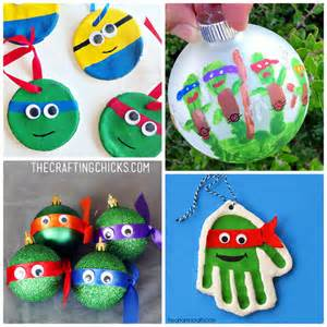 ninja turtle ornament ideas that kids can make crafty