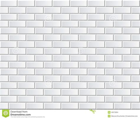white tiles ceramic brick stock vector illustration of seamless vector white brick wall background pattern